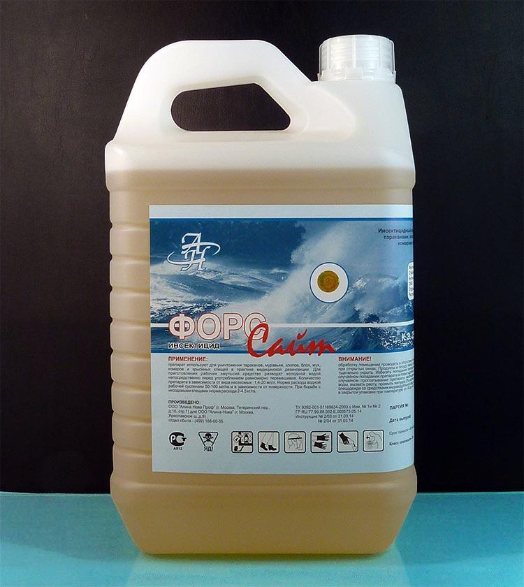 Жидкое средство от тараканов Форсайт в канистре
