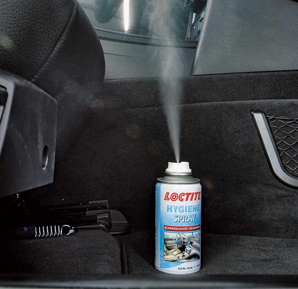 Аэрозоли для устранения аромата в машине